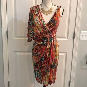 Maggi London one shoulder dress